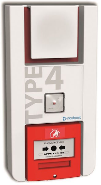 equipement d 39 alarme incendie de type 4 dans la loire. Black Bedroom Furniture Sets. Home Design Ideas